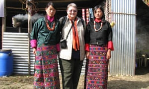 In Bhutan during festival time