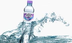 Highland Spring bottled water