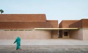 Musée Yves Saint Lauren, Marrakech, exterior.