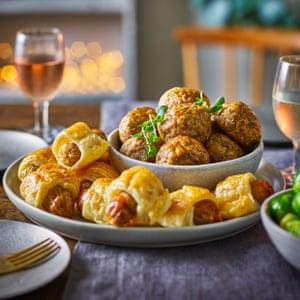 Tesco Plant Chef 12 sage and onion stuffing balls