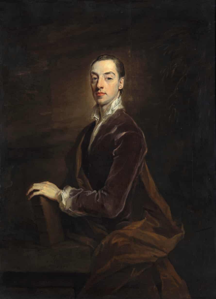 Matthew Prior, 1700 by Godfrey Kneller.