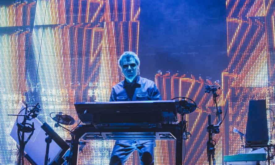 Jean Michel Jarre – Oxygene makes the list and he's no stranger to a bit of neon.