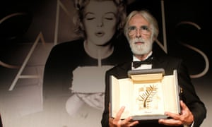 Third time lucky? Michael Haneke with the Palme d'Or