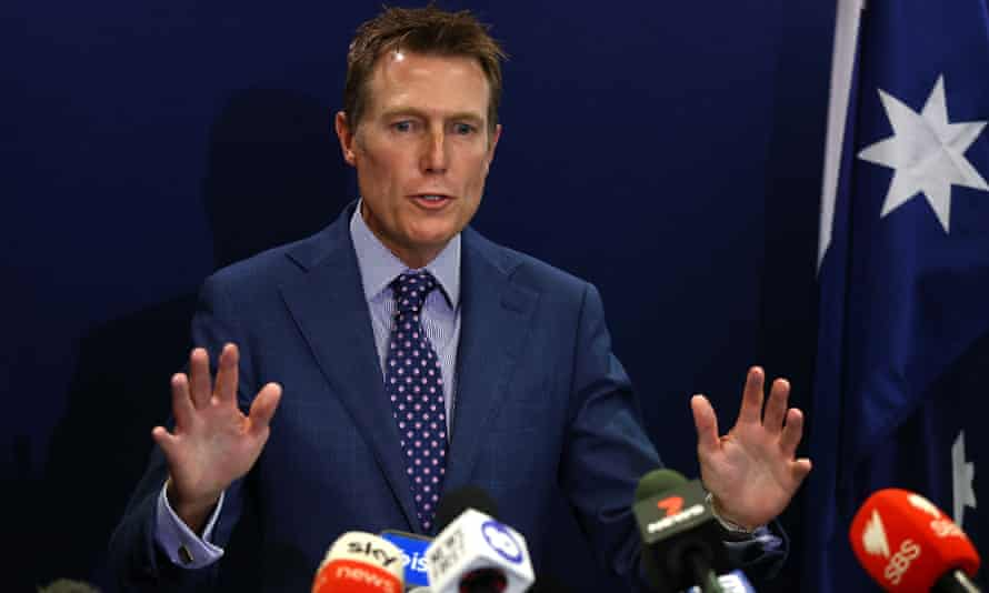 Christian Porter emphatically denies a rape allegation at a media conference in Perth on 3 March 2021