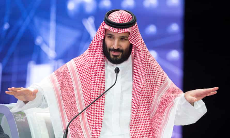 Mohammed bin Salman: 'What happens when he next visits Washington or London?'