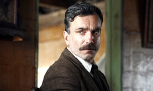 'The whole form of the character came to vibrant life'... Daniel Day-Lewis in There Will Be Blood.