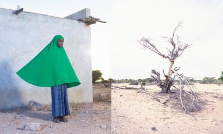 An image taken by Felicity McCabe, FM-Somaliland, Ayan (11 years old): Gargara IDP Camp portrait, 2015.
