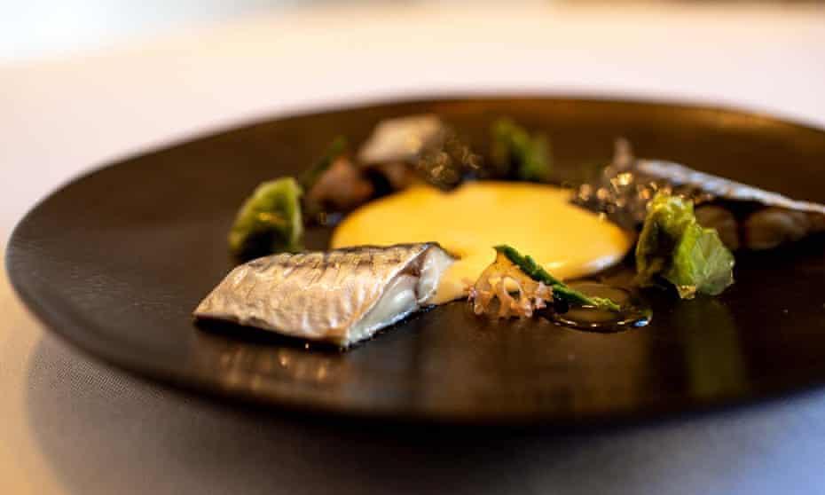 Dish at Mu-Na, Leon, Spain