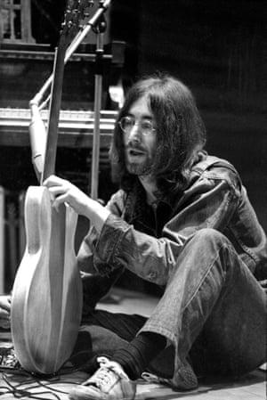 John Lennon in 1969 by Jak Kilby.
