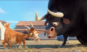 Lupe the goat and Ferdinand the bull in Ferdinand