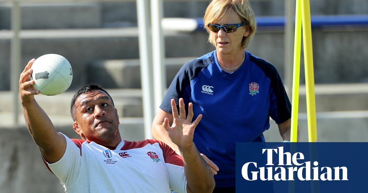 England's vision coach Dr Sherylle Calder: 'Jones is a rugby mastermind'