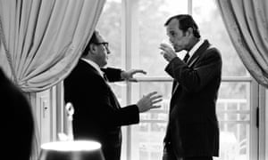 Henry Kissinger and George Bush in 1974, shortly after Gerald Ford became president.