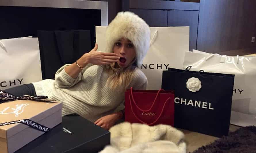 The joke's on whom? Clarisse Lafleur on Rich Kids of Instagram.
