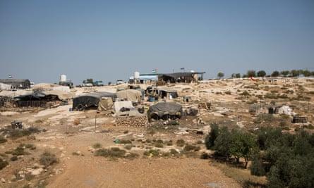 Susiya tents