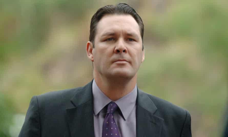 Senior Sergeant Chris Hurley in June 2007.