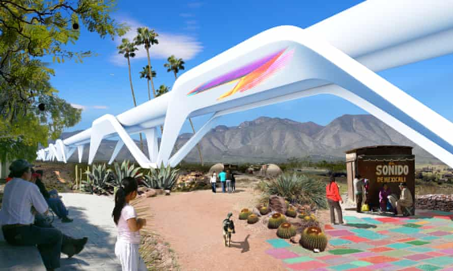 One collective of Mexican and American architects wants to turn the border into a 'regenerative' territory with no barrier between the nations.