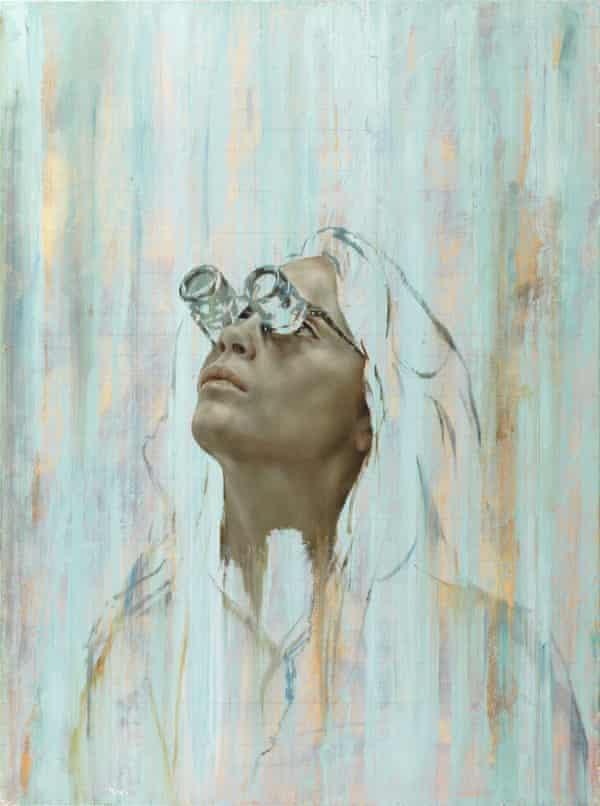 Cara I (Goggles), by Jonathan Yeo.