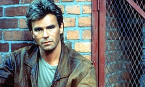 Goofiness and bravado ... Richard Dean Anderson as MacGyver.