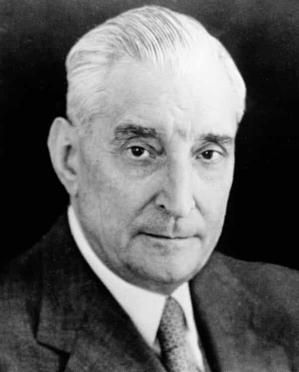 Portuguese dictator Antonio de Oliveira Salazar.