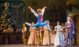 The Nutcracker by The Royal Ballet at The Royal Opera House, Covent Garden, London.