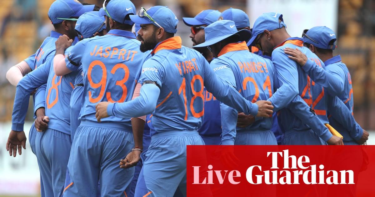 India v Australia: third one-day international – live!