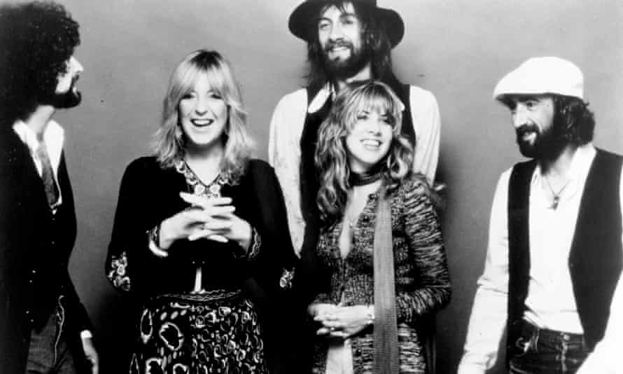 Fleetwood Mac in 1977, around the time of their album Rumours.