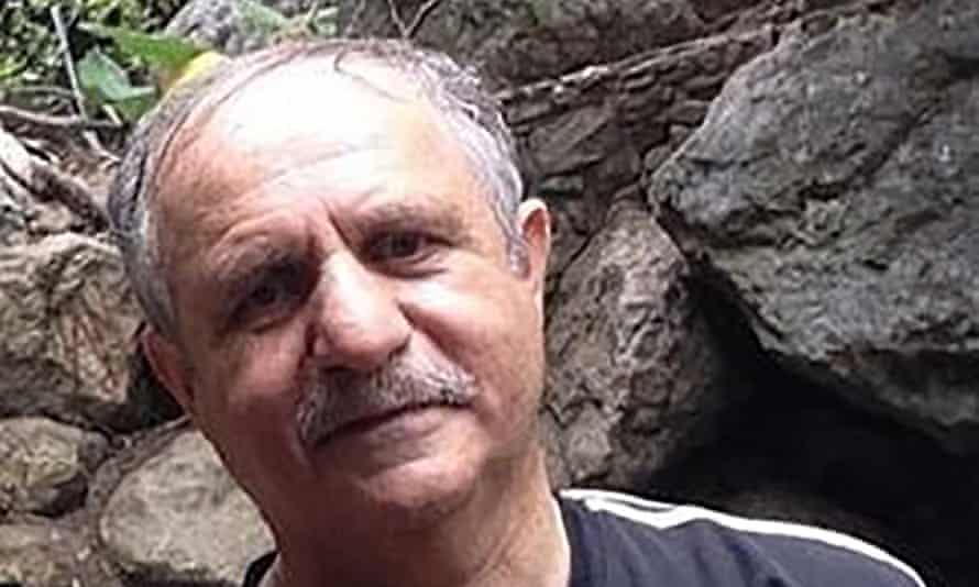 Mehran Raoof, a British-Iranian labour rights activist, who is being detained in Tehran.