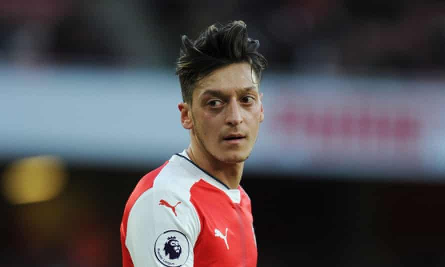 Mesut Özil has 18 months left of his contract at Arsenal.