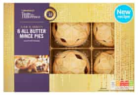 Taste the Difference All Butter Mince Pies