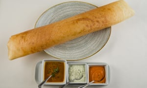 'A couple of these would double for an eiderdown on a chilly Chester evening': masala dosa.