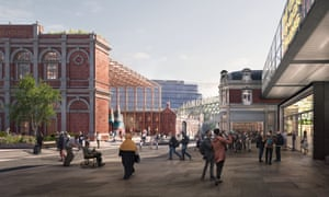 A recently submitted design for the new Museum of London.