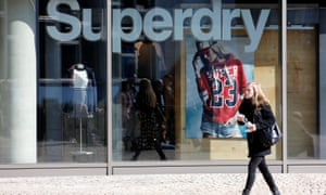 Superdry has increased the number of products sold online.