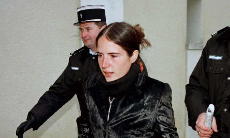 François Mitterrand and Anne Pingeot's daugther, Mazarine, pictured in 1997.