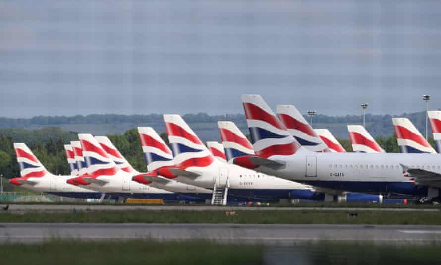British Airways is among the 53 companies revealed as beneficiaries from the Bank of England's Covid Corporate Financing Facility.
