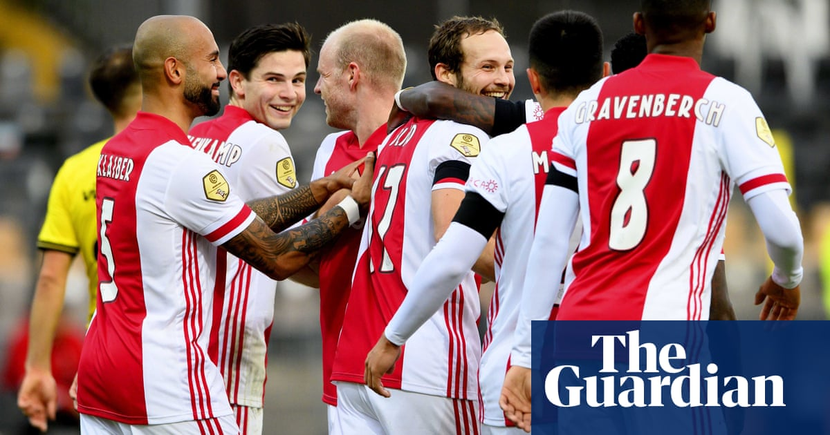 Ajax set new Eredivisie scoring record with 13-0 trouncing of hapless Venlo