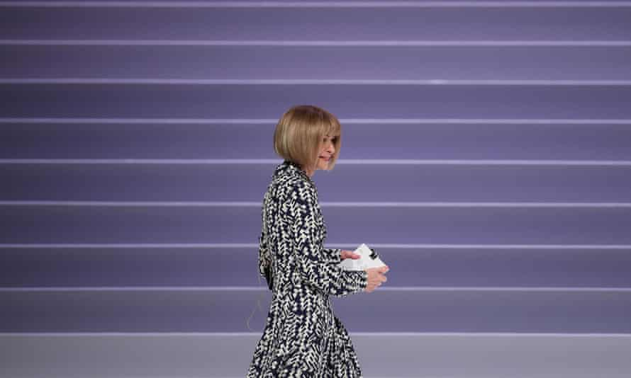 Anna Wintour in Athens, Greece, on 27 November 2019.