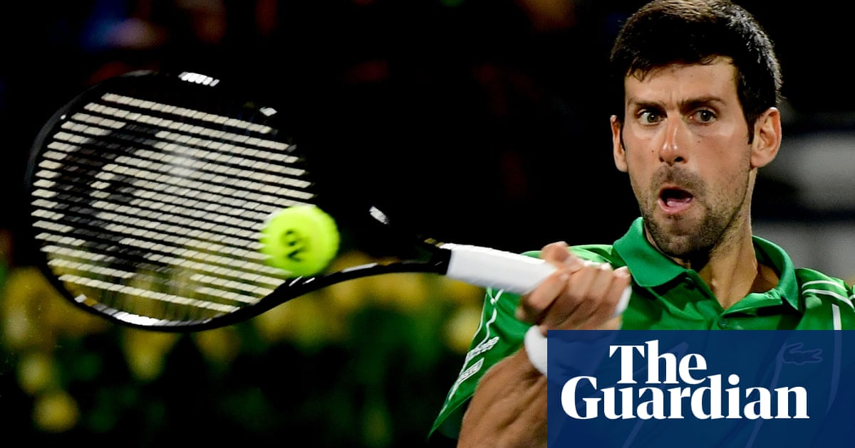 Injured Novak Djokovic Pulls Out Of Western Southern Open Doubles Sport The Guardian