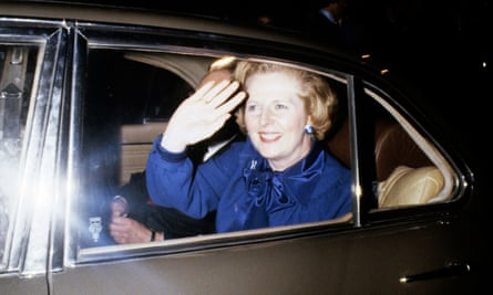 'Disapproved of borrowing': Margaret Thatcher in 1979, the year she came to power