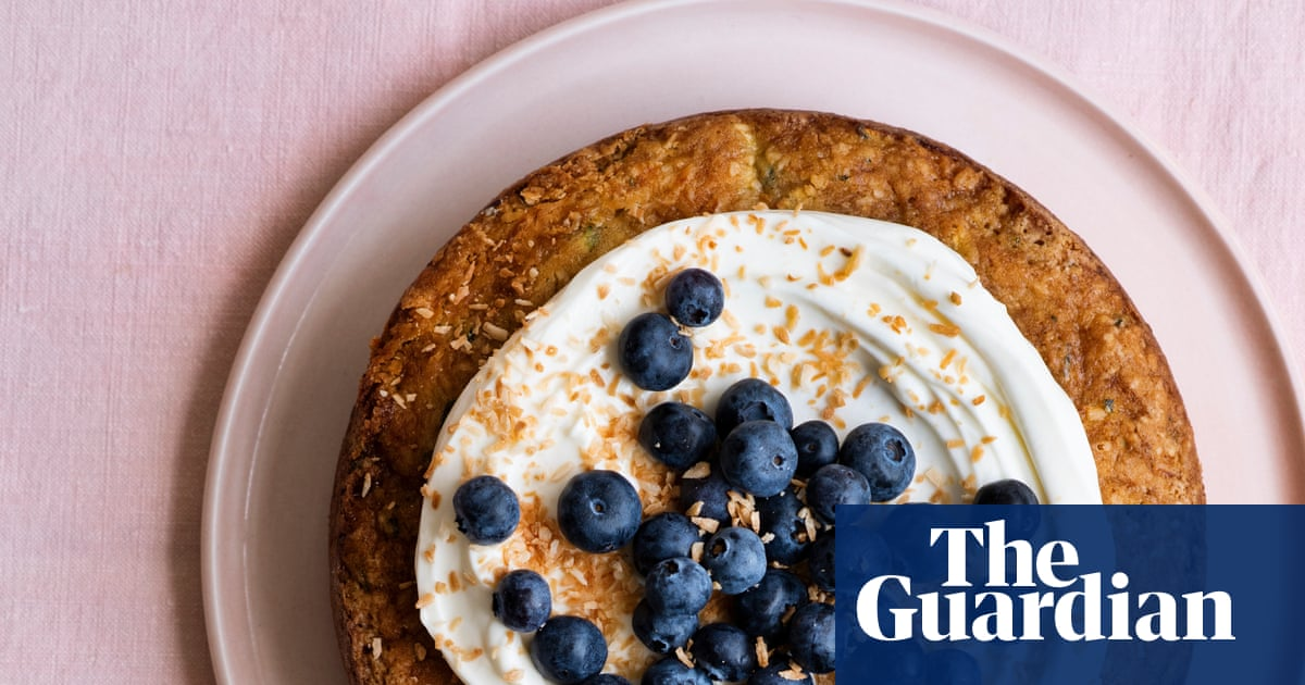 Tamal Ray's recipe for courgette and coconut cake