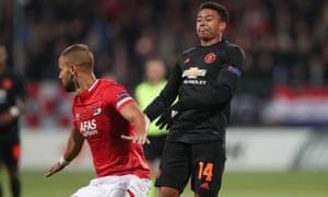 AZ Alkmaar v Manchester United
