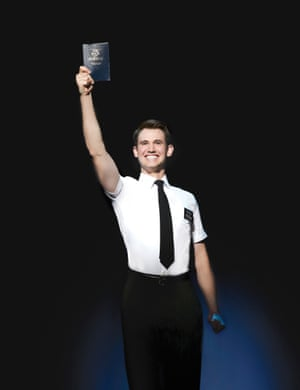 Ryan Bondy as Elder Price in The Book of Mormon