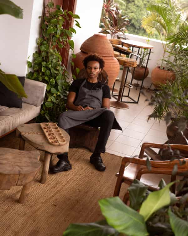 Michael Elégbèdé, 31, wants to redefine fine dining without fitting into a 'western narrative'.