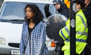 Maya Cobbina, played by Sophie Okonedo, in the BBC's Undercover. One of the women feels the drama has sensationalised their experiences.