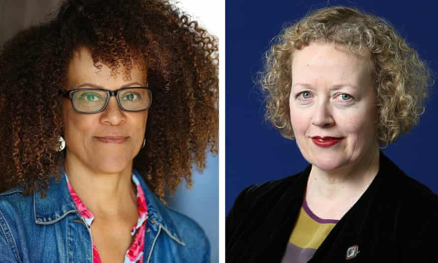 'Illuminating major social and political themes' … Bernardine Evaristo (left) and Lucy Ellmann.