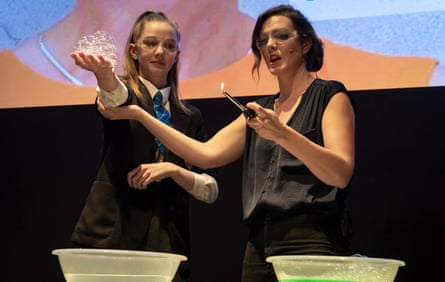 SeeMe is an interactive; curriculum-linked stage show created by Siemens and BBC science presenter Fran Scott. The show explores ground-breaking contributions to science; technology engineering and maths (STEM); taking the audience on a journey into the world of STEM with captivating live stage experiments.