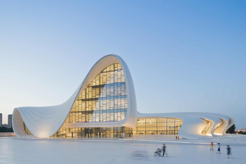 Heydar Aliyev centre, Baku, Azerbaijan. Photograph: Zaha Hadid architects
