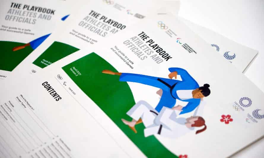 The updated 'playbook' for athletes and officials released by the Tokyo organisers and the IOC.