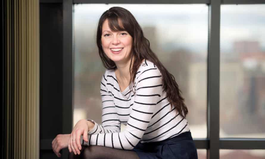 Amy Perrin, who founded the Bristol-based loneliness charity the Marmalade Trust.