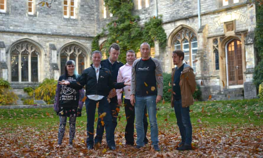 Former homeless students on the pre-university access module at the University of Chichester.