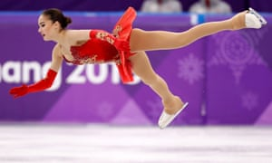 Alina Zagitova put in a superb performance to win Olympic gold
